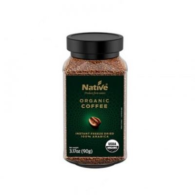 NATIVE-ORG FREEZE DRIED COFFEE-90G