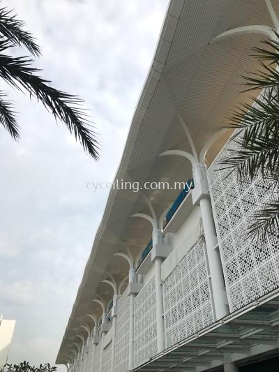 Aluminum Strip Ceiling - Putrajaya