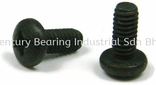 Phillips Round Head Machine Screw Bolt and Nut Supplier, Suppliers, Supply, Supplies  ~ Century Bearing Industrial Sdn Bhd