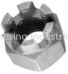 Castle Nut Bolt and Nut Supplier, Suppliers, Supply, Supplies  ~ Century Bearing Industrial Sdn Bhd