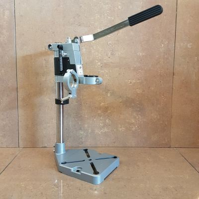 Hand Drill Press Stand (2-Head / Aluminium Base) ID119831