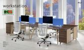 PX7-Workstation Set (A1) Modern Partition Office Partition/Workstation