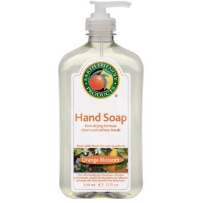 ECOS-HAND SOAP-ORG-ORANGE BLOSSOM-17 OZ