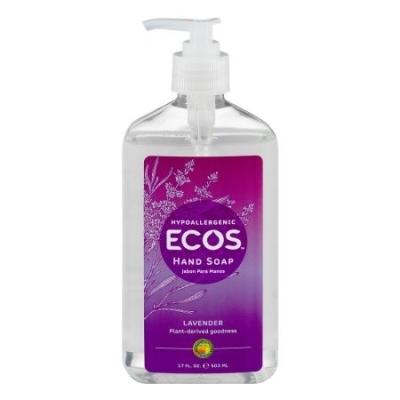 ECOS-HAND SOAP-ORG-LAVENDER-17 OZ