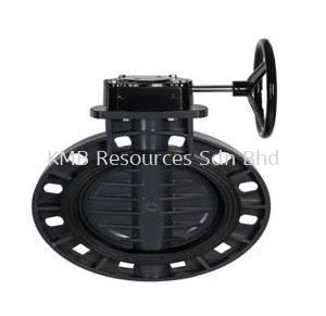 Ione Butterfly Valve Gear Type