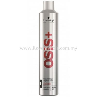 SCHWARZKOPF OSIS SESSION 3( 500ML)  EXTREME hold