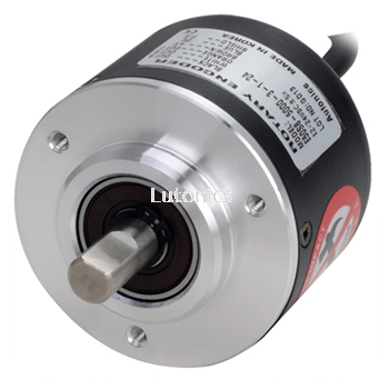 E50S Series - Shaft Type Ø50mm Incremental Rotary Encoder