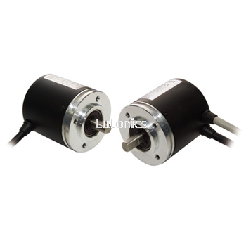 EPM50S Series - Shaft Type Ø50mm Multi-Turn Absolute Rotary Encoder
