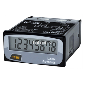 LA8N Series - DIN W48��H24mm, Indication Only, LCD Counter