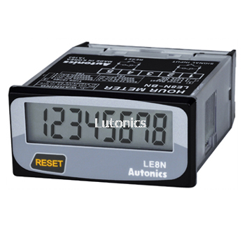 LE8N Series - DIN W48��H24mm, Indication Only, LCD Timer (Hour Meter)
