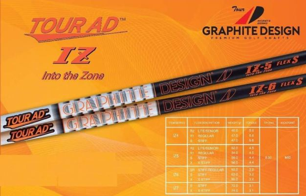 Graphite Design Tour AD IZ Into the Zone Shaft