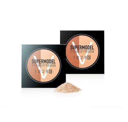 1028 Visual Therapy Supermodel V Compact Powder (Light Beige / Pink Beige)