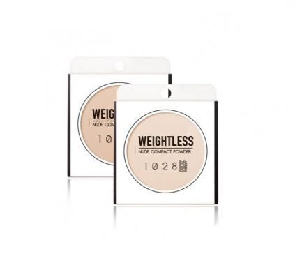 1028 Visual Therapy Weightless Nude Compact Powder (Light Beige / Pink Beige)