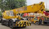 Rough Terrain Crane Rough Terrain Cranes (RT) Hydraulic Cranes (Up To 700 Ton)