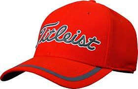 Titleist Performance TPU Hats (Red Flame)