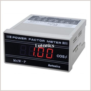 M4W-P Series - DIN W96��H48mm, Digital Panel Meter For Displaying Power Factor