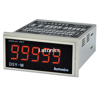 D5Y Series - Display unit Indication type only