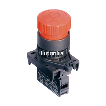 S2ER-E1 Series - Ø22/25 Head D30L Emergency switches (Non-Flush)