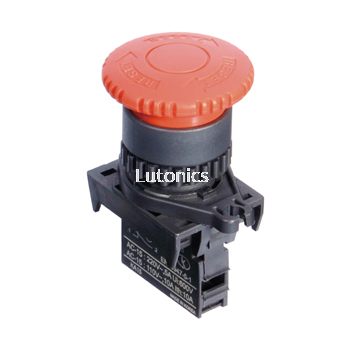 S2ER-E3 Series - 22/25 Head D40 Emergency switches (Non-Flush)