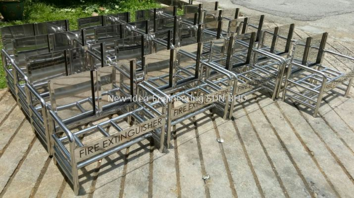 Stainless Steel Fire Extinguisher rack