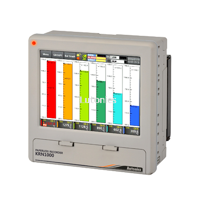 KRN1000 Series - LCD Touchscreen Paperless Recorders