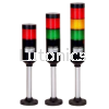 PTE Series - D56mm Modular Style LED Tower Light  Tower lights  Indicating lights Menics Products