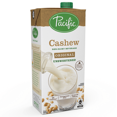 PAC-CASHEW*UNSWEETENED*ORIGINAL-946ML