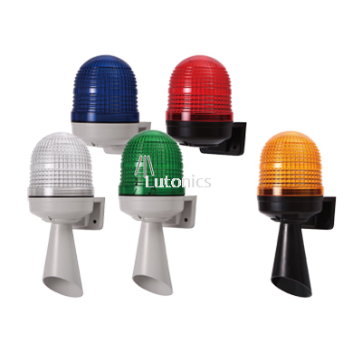 MW86T Series - D86mm Wall Mounting Signal Light (Multi Sound)