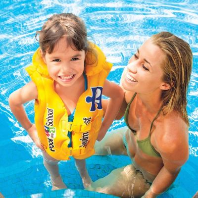 INTEX 58660 POOL SCHOOL SWIM VEST