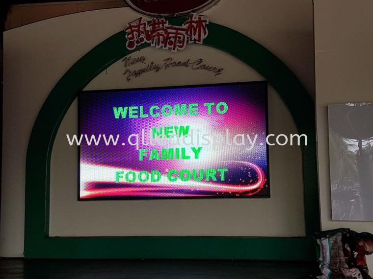 5.3ft x 9.1ft P6 INDOOR LED DISPLAY BOARD(FULL COLOR) P6 INDOOR LED DISPLAY BOARD LED Display Board