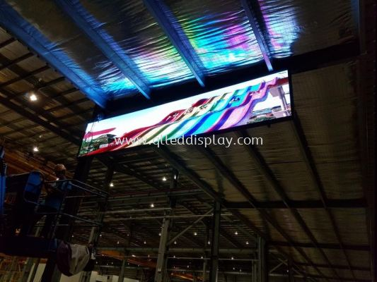1.05m x 5.06m P6 Outdoor led display board��full color��