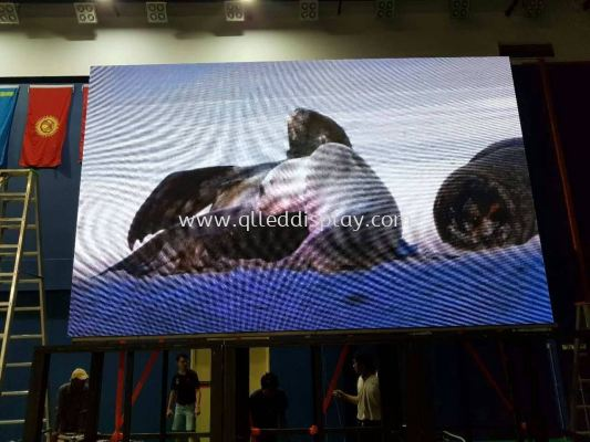 8ft (H) x 13ft (W)P4 INDOOR FULL COLOUR LED DISPLAY BOARD WITH CABINET
