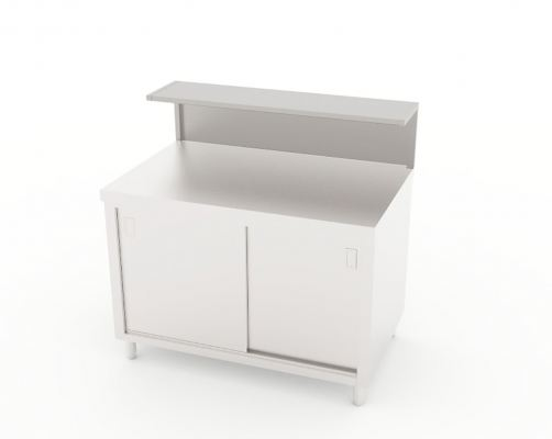 Working Counter with Landing Table