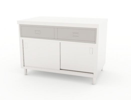 Working Counter with Drawer
