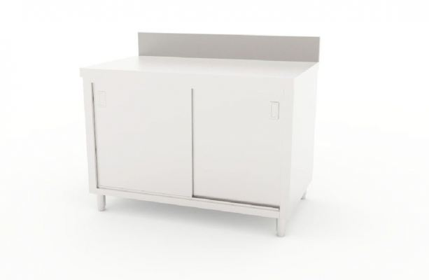 Working Counter with Splash-back