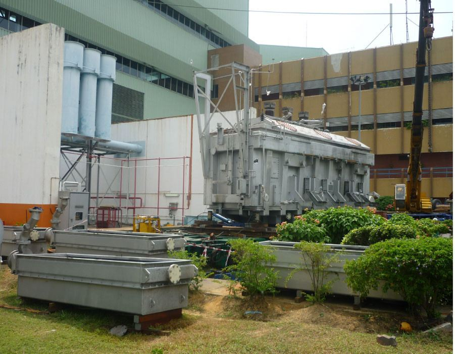 Power Transformer Project Selangor, Malaysia, Kuala Lumpur (KL), Klang Work, Project, Installation | GCG Electrical Engineering Sdn Bhd