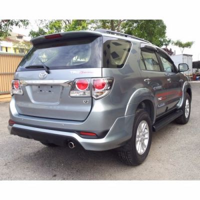 TOYOTA FORTUNER 2012 rear skirt