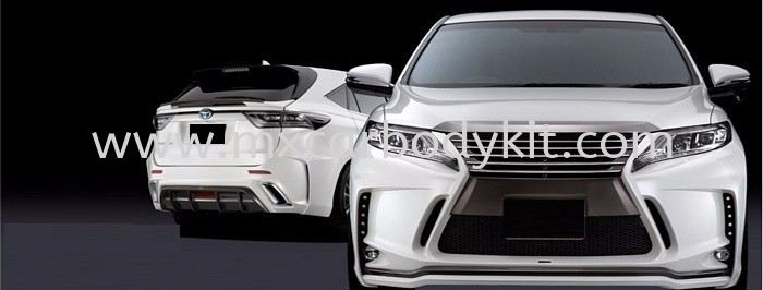 2015 TOYOTA HARRIER SILKBLAZE BODYKIT HARRIER 2014 TOYOTA