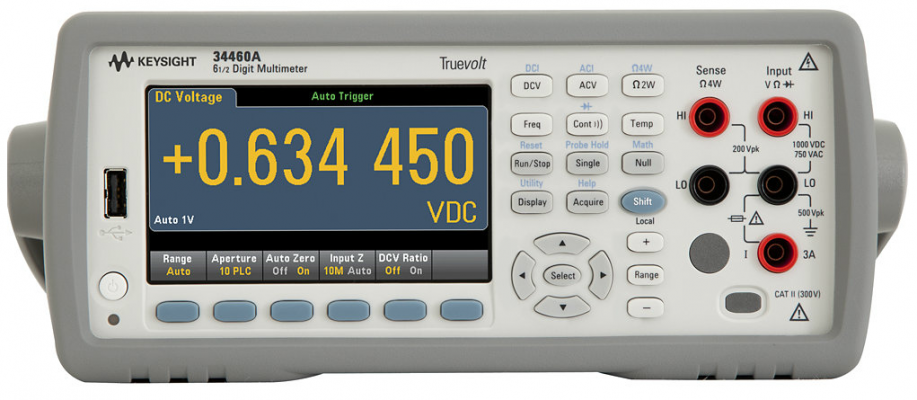 Digital Multimeter 6.5 Digit, 34460A