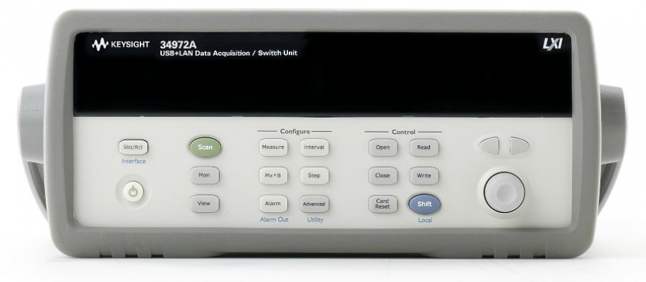 Data Acquisition/Datalogger, 34972A