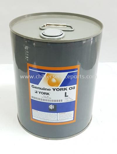 "011-00592-000 York Compressor Oil ""L"" 5-Gal."