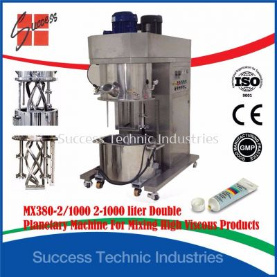 MX380 Planetary Mixer Machine for High Viscosity Products