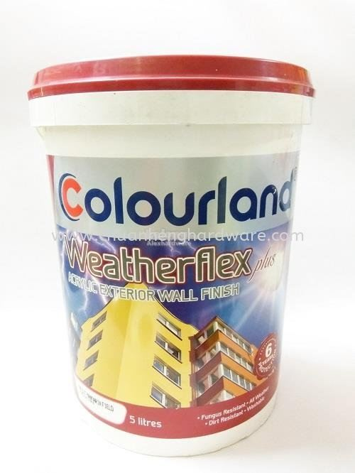 COLOURLAND PAINTS WEATHERFLEX