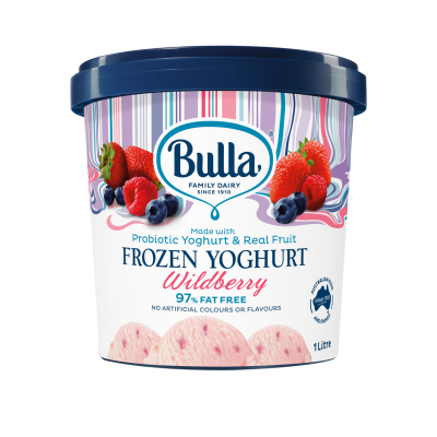 Bulla Frozen Yoghurt Wildberry