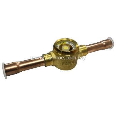 "Sanhua Sight Glass - SYJ10 (3/8"") Solder"