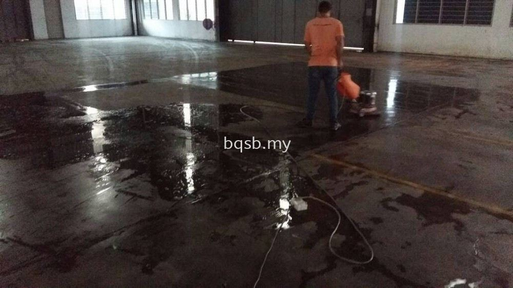 Concrete Concrete Cleaning, Polishing, Restoration, Services  ~ Bright Quantico Sdn Bhd