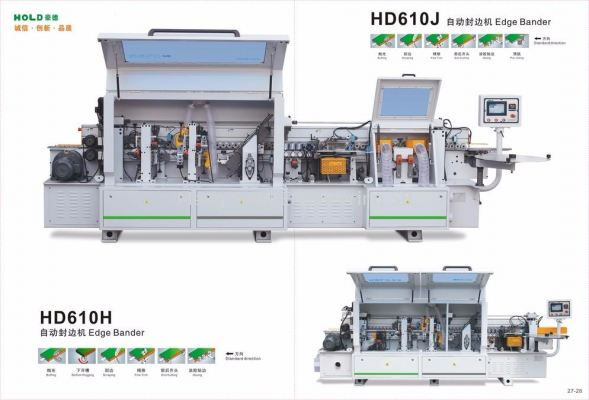 Automatic Edge Bander HD610J