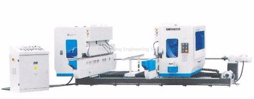 DOUBLE END TENONER MACHINE