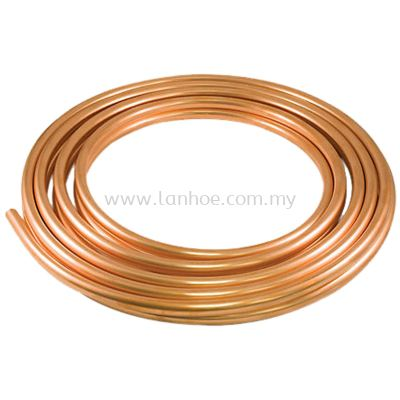 "Copper Tubes - 3/8"" x 0.61mm (23g) x 15m"