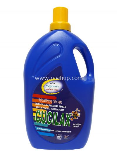 Cucilax Concentrated Liquid Laundry Detergent